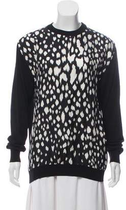 Fausto Puglisi Wool and Silk Blended Sweater