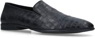 Brotini Crocodile Loafers