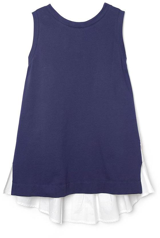 Thakoon Cape-Back Sleeveless Top