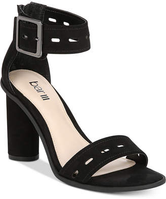 Bar III Breeanne High Heel Block Sandals, Created For Macy's