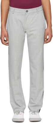 Daniel W. Fletcher Grey Side Stripe Trousers