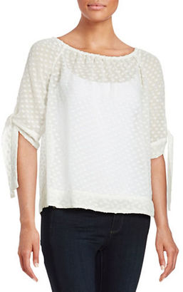 Lord & Taylor Polka Dot Blouse $94 thestylecure.com