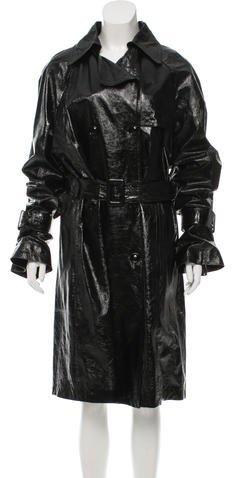 ValentinoValentino Patent Leather Trench Coat