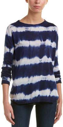 Central Park West Tiburon Linen-Blend Sweater