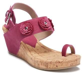 Donald J Pliner \nGilly Floral Platform Wedge Sandal