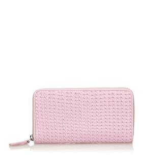 Christian Dior Pink Leather Wallets