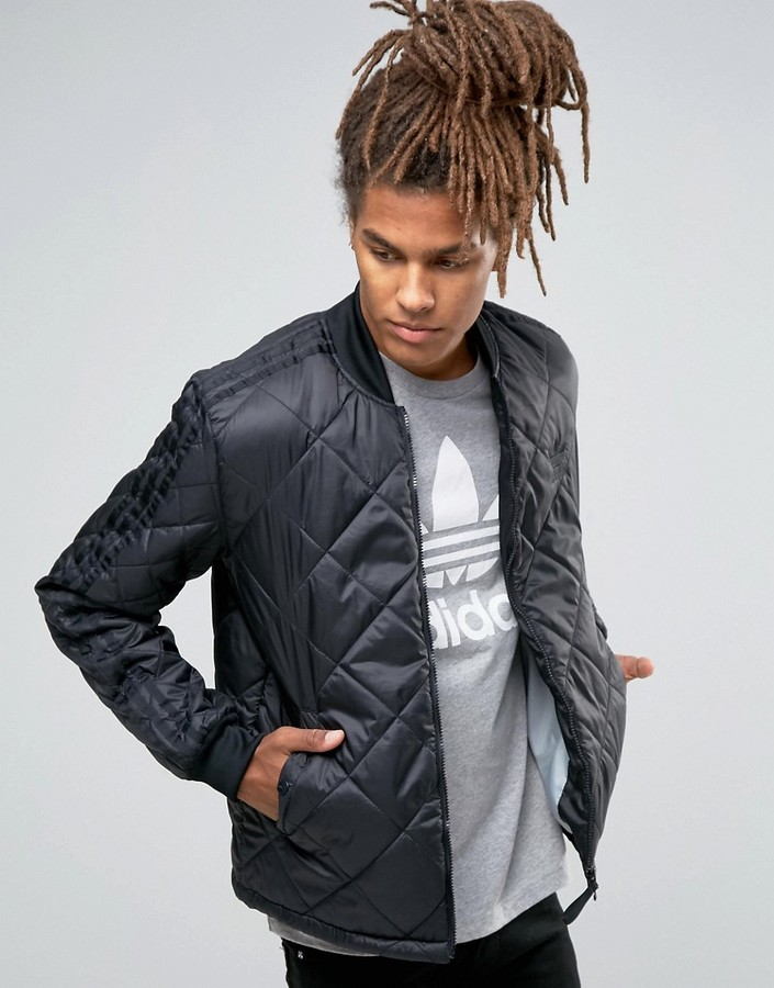 adidas Originals Quilted Superstar Bomber Jacket AY9145
