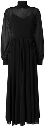 Diane von Furstenberg long turtle neck dress