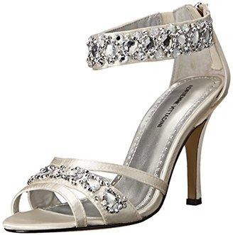 Adrienne Vittadini Footwear Women's Gabrielle Dress Sandal $110 thestylecure.com