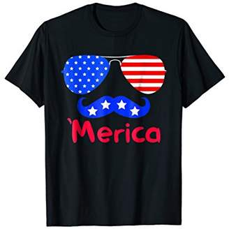 'Merica American Flag Vintage Men Women Gift 2018 T-shirt