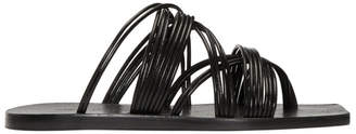 Rick Owens Black Tangle Sandals
