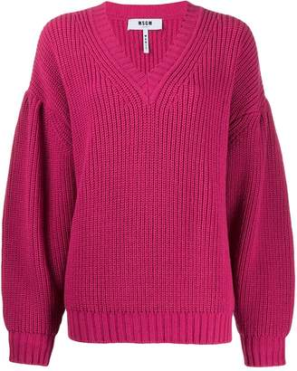 MSGM chunky knit jumper