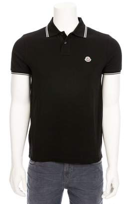 Moncler Polo With Tipping Detail