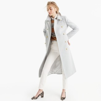 Petite double-breasted topcoat in wool-cashmere $395 thestylecure.com
