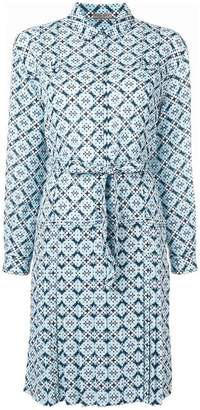 Bottega Veneta geometric print shirt dress