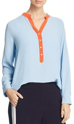 Marella Lux Contrast Placket Blouse