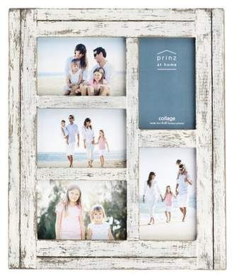 Prinz Water's Edge 5 Opening Homestead Wood Collage Picture Frame