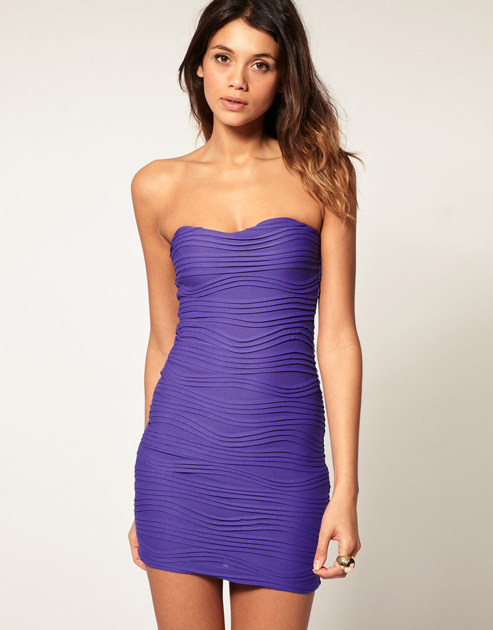 ASOS Mini Strapless Dress with Sweetheart Neckline