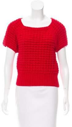 Acne Studios Chunky Knit Short Sleeve Sweater