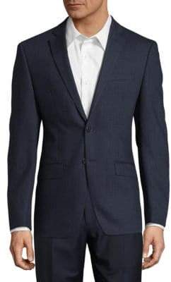 Calvin Klein Two-Button Wool Sportcoat