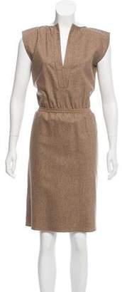 Balenciaga Wool Sleeveless Dress w/ Tags