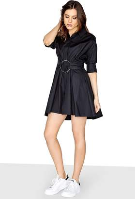 Girls On Film Outlet Black Shirt Dress