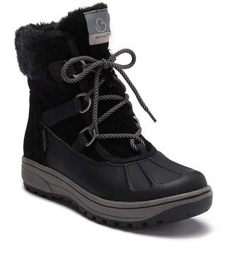 Bare Traps BareTraps Danula Suede Waterproof Faux Fur Lined Boot