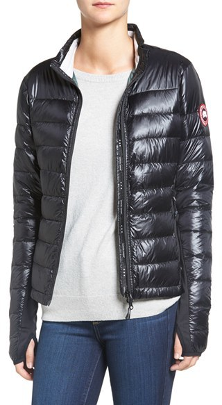 Canada Goose 'Hybridge Lite' Slim Fit Mixed Media Down Jacket