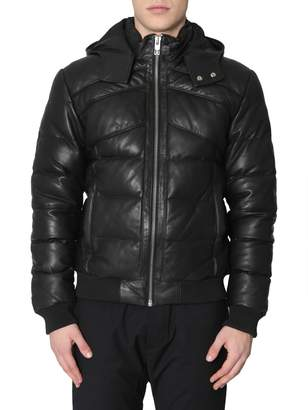 Les Hommes Puffy Jacket With Hood