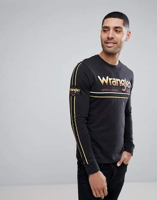 Wrangler Graphic Logo Long Sleeved Top