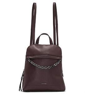 Calvin Klein Hera Lamb Leather Backpack