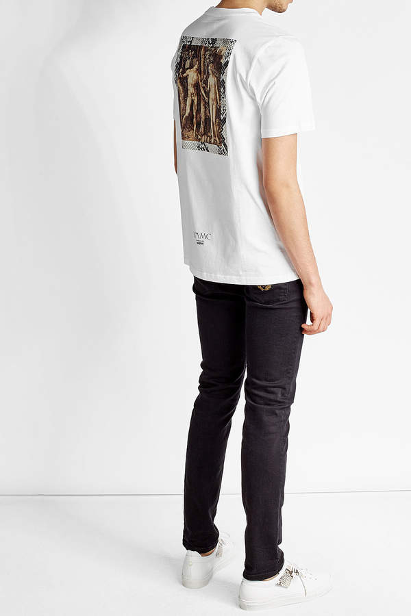 Oamc Printed Cotton T-Shirt