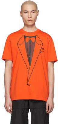 Nike Orange Off-White Edition NRG A6 T-Shirt