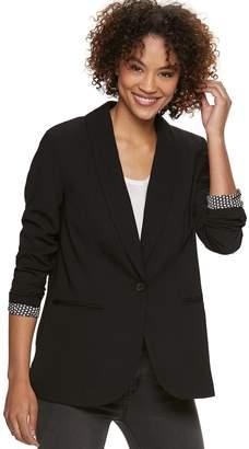 Popsugar Women's POPSUGAR Essential Plaid Blazer