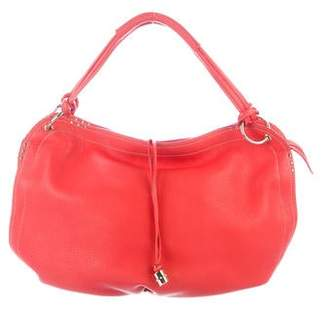 Celine Pebbled Leather Hobo