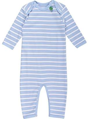 Green Cotton Fred's World by Baby Stripe Bodysuit (Blue 015392001)