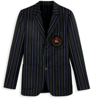 Burberry Satch Striped Schoolboy Blazer