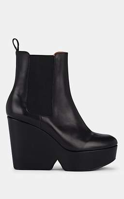 Clergerie Women's Beatrice 2 Leather Platform Ankle Boots - Black