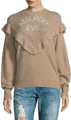 Wildfox Couture Women's Absurdly Evil Sweater