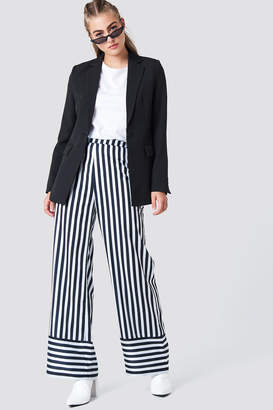Na Kd Trend High Waist Wide Striped Pants