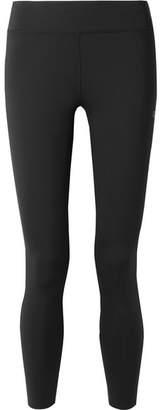 Calvin Klein Printed Stretch Leggings - Black