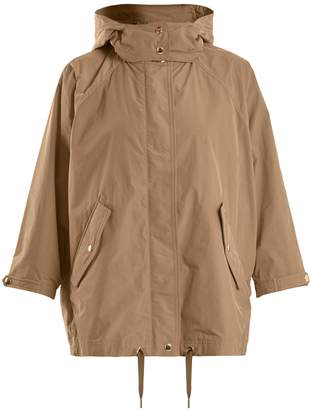 Woolrich Batwing-sleeved hooded jacket