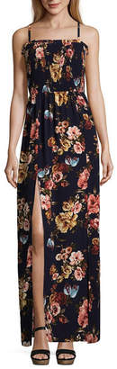 BY AND BY by&by Sleeveless Floral Maxi Dress-Juniors