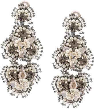 Mignonne Gavigan floral drop earrings