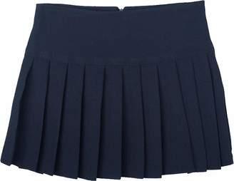 Unique Girls Womens Britney Pleated School Work Skirt Grey Ladies Size 10