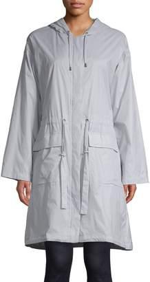 Eileen Fisher Hooded Drawstring Jacket