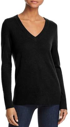 Aqua V-Neck Cashmere Sweater - 100% Exclusive