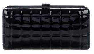 Chanel Square Quilt Frame Clutch