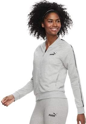 Puma Women's Graphic Tape Full-Zip Jacket
