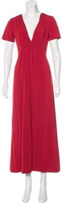 Vera Wang Short Sleeve Maxi Dress $175 thestylecure.com